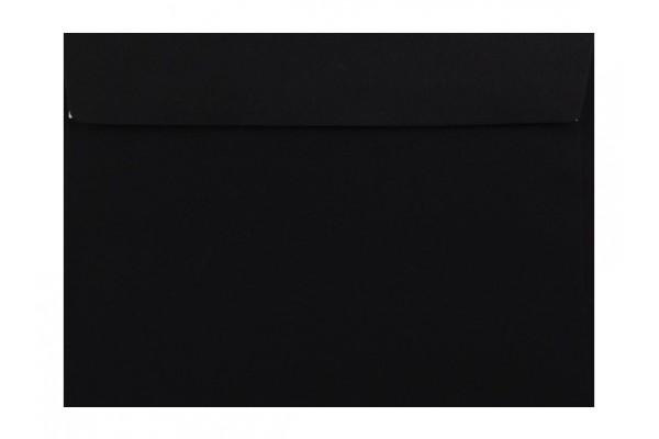 Farebná obálka s odtrhávacím pásikom (samolepiaca) čierna