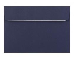 Farebná obálka s odtrhávacím pásikom (samolepiaca) tmavá modrá