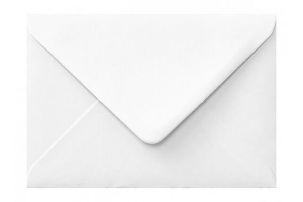 Poštová obálka biela