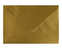 Poštová obálka zlatá