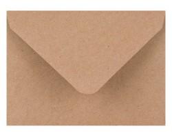 Poštová obálka hnedá